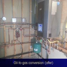 oil-to-gas conversion(after)